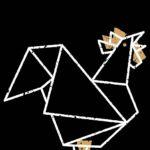Logo de la troupe la Poule