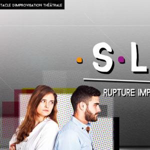 Visuel du spectacle SLY - Rupture improvisée