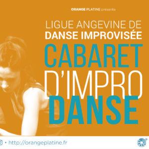 Visuel du cabaret d'impro danse