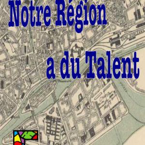 Plan de la ville de Nantes et titre Notre région a du talent
