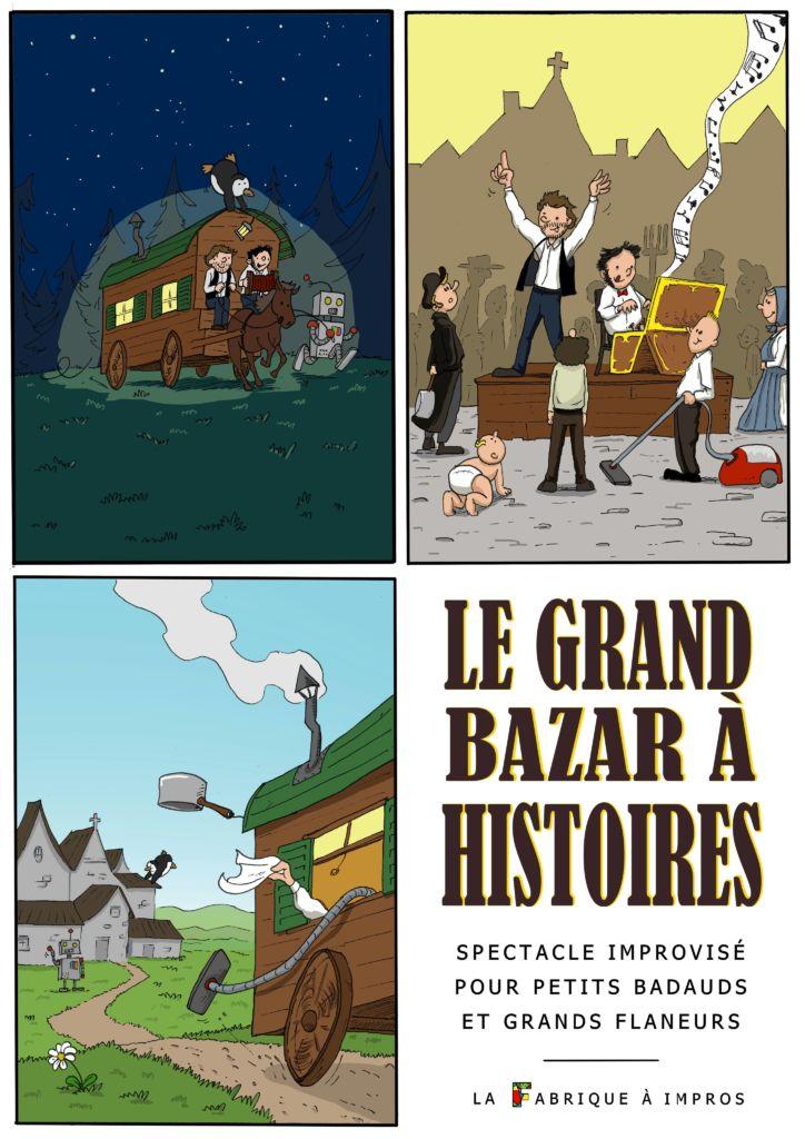 Affiche du Grand Bazar à Histoires