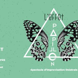 Visuel du spectacle l'Effet Papillon