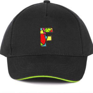 Casquette la Fabrique à Impros noir/vert