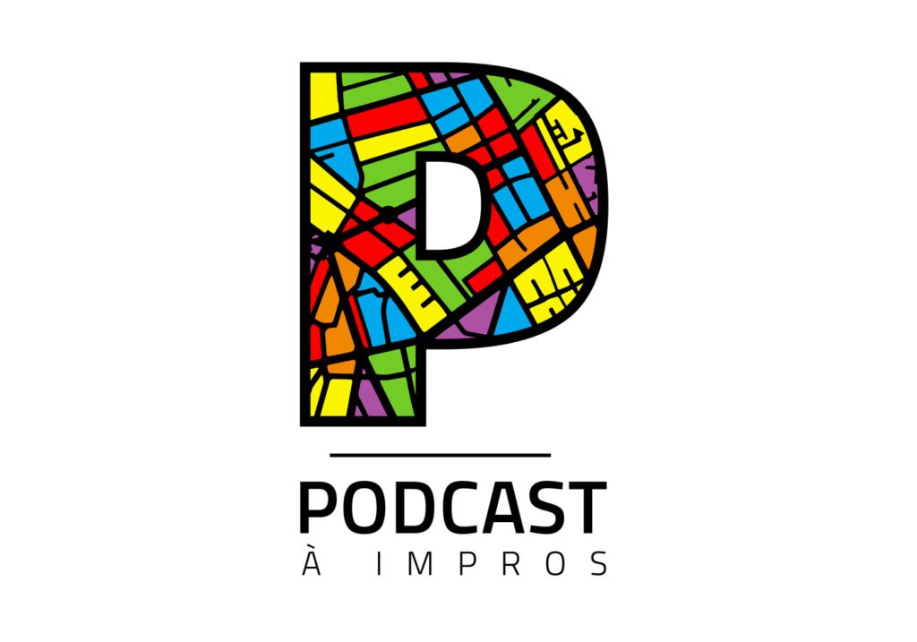 Logo du Podcast à Impros